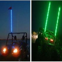 Banderin Cuatrimoto Rzr 4x4 Led Colore Super Flexible Antena