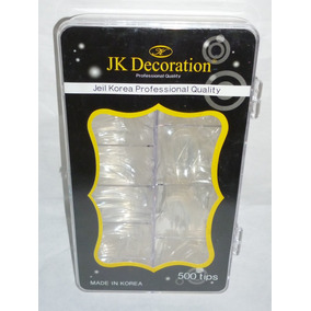 Caja Con 500 Uñas Cristal Jeil Korea Professional