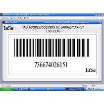 Software De Carnet Para Colegios Con Código De Barras