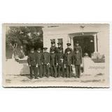 Antigua Foto Militar Soldados De Gala Ejercito Argentino