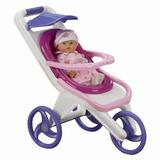 American Plastic Toy 3-in-1 Stroller