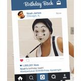 Cartel Cuadro Marco De Fotos Instagram Facebook Snapchat Xxl