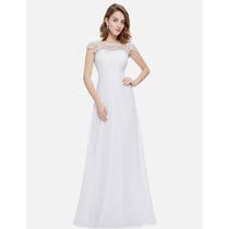 Vestido Noiva Importado Usa Ever Pretty Pr Entrega= Tam M=