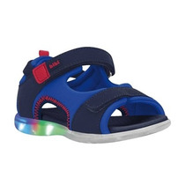 Sandalia Infantil Bibi Menino Azul 888035 20 A 32