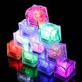 Hielos Led Luminosos Cubo Pack 12 Unidades / Fernapet