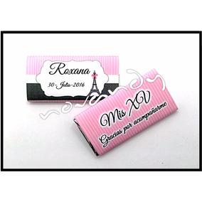 Chocolates Personalizados Vaquita Baby Shower Bebe Boda