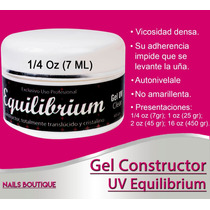 Gel Uv Equilibrium De Sublime Nails 7ml (1/4oz) Clear