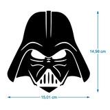 Adesivo Decorativo Darth Vader Star Wars Guerra Nas Estrelas
