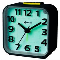 Relógio Despertador Quartz Herweg 2706 034 Analógi- Refinado