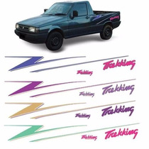 Kit Faixas Decorativa Fiorino Pick-up Trekking 96 3m Cores