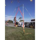Estructura Para Circo Acrobacia Aerea (tela, Aro, Trapecio)