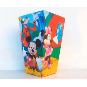 Cono Para Pochoclos - La Casa De Mickey Mouse (pack X30)