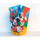 Cono Para Pochoclos - La Casa De Mickey Mouse (pack X40)