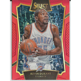 2015-16 Panini Select  66 Kevin Durant Red Prizm  149 Thund 0211325c86b