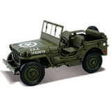 Jeep Willys Gurra Fricción Metal Goma Uniko Colección Sale