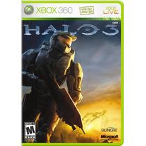 Halo 3 Xbox 360 Midia Fisica Original Lacrado