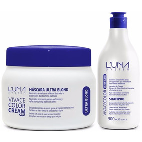 Kit Matizador Ultra Blond Luna System+ Kit Tonalizante Preto