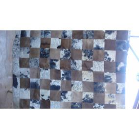 Tapete De Couro Retalhado 1,45x1,80 Nunca Usado.