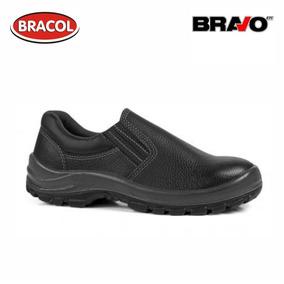 Sapato De Segurança Bravo/bracol Com Bico Pvc Bidensidade