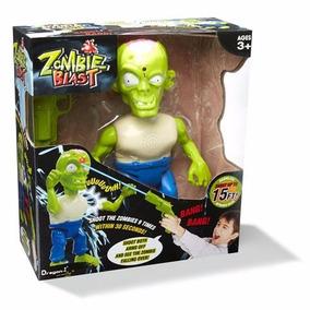 Zombie Blast Muñeco Zombie Con Arma Jugueteria Bunny Toys