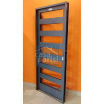 Puerta Doble Chapa Vidriada 70 X 200