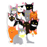Enjoi Monopatín Parachoques - Gatos Patín - Nuevos Pussys P