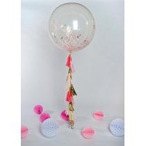 18 globos gigantes transparentes o de colores