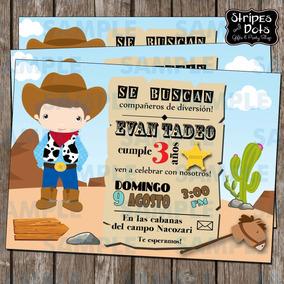Invitaciones Vaqueritos-vaqueros-invitaciones Infantiles