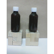 Botella Envase Pet 120 Ml Tapa Normal Inviolable Ámbar