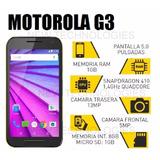 Motorola Moto G3 3ra Gen 16gb 4g Lte Libre 13mp Garantia
