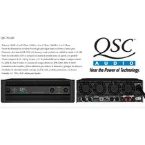Potencia Qsc Pl6.ii --- 2200a X 2 En 4 / 3500w X 2 En 2 Ohms