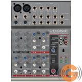 Mesa Som Phonic Am 105fx 1002fx 10 Canais O F E R T A