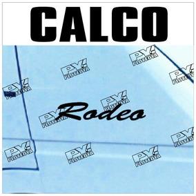 Calcos Rodeo Renault Trafic - Porton + 2 Calcos Guardabarro