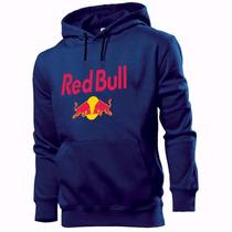 Moletom Casaco Blusa Blusão Canguru Red Bull