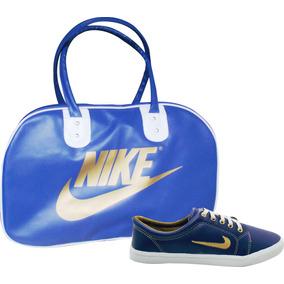 Kit Bolsa Tenis Nike Sapatilha Promoção