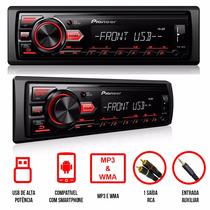 Mp3 Player Pioneer Mvh-88ub Media Receiver Som Rádio Usb Aux