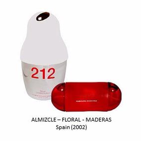 Carolina 212 Silver 60ml. Descontinuado (perfumes Hueta)