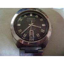 Clásico Reloj Citizen Crystal Seven. Vintage. Colección 70s.
