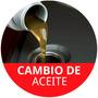 Cambio De Aceite Y Filtro Para Vehiculos Que Usen 4 Litros