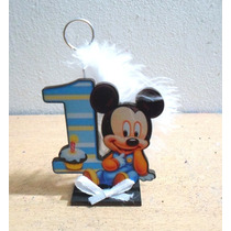 Mickey Bebe O Minie Bebe Primer Añito / 10 Unidades
