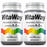 Polivitamínico Vitaway A Z 240 Cáps Fitoway