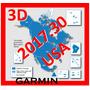 Mapa Garmin Estados Unidos 3d Para Gps Nuvi Ultima Version