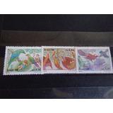 Brasil - Ivert Nro 1811/13 Mint Fauna Aves Tipicas