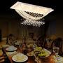 Luz De Montaje Empotrado Exuberante Cristal Con 8 Luces De