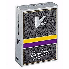 Caña Para Clarinete Vandoren V12 #3.1/2 #3.1/2+ #4