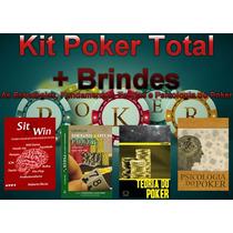Kit Poker Total - Estratégias, Fundam. Teorias E Psicologia