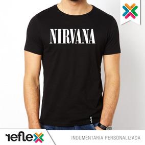 Remera Nirvana - 100% Algodón - Calidad Premium