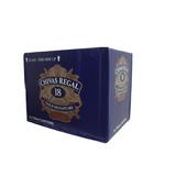 Whisky Chivas Regal 18 Años 750ml - Caja De 6 Unidades
