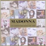 Cd : Madonna - Complete Studio Albums 1983 - 2008