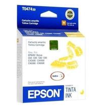 Cartucho Epson T047420 Amarelo   47420   C63   C65   C83